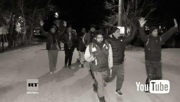 Embedded thumbnail for Türkei öffnet Grenzen nach Europa – Erste Syrer unterwegs