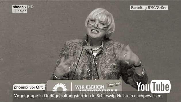 Embedded thumbnail for Verrückt, verrückter, Claudia Roth
