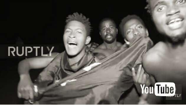 Embedded thumbnail for 900 Afrikaner erstürmen Grenze von Ceuta