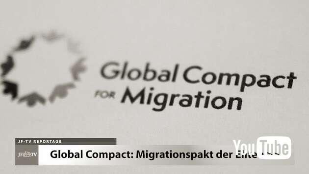 Embedded thumbnail for Migrationspakt der Eliten