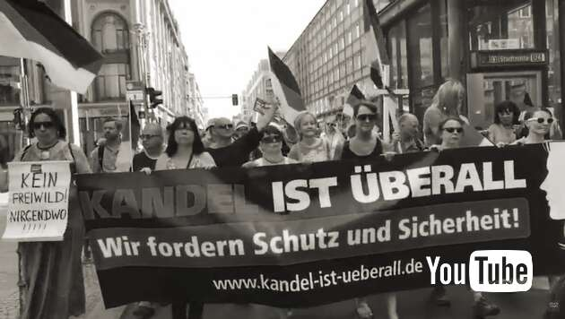 Embedded thumbnail for Livestream: Frauenmarsch Berlin 09.06.2018