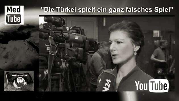 """Embedded thumbnail for Sahra Wagenknecht: """"Die Türkei spielt ein ganz falsches Spiel"""""""