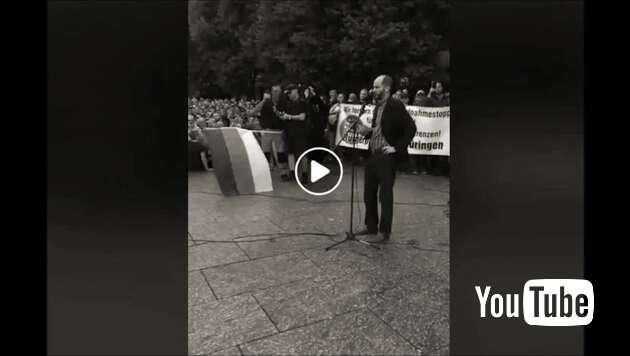 Embedded thumbnail for Livestream: Demo in Chemnitz 27.08.2018