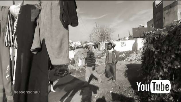 Embedded thumbnail for Flüchtlinge randalieren in Gefängnissen