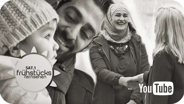 Embedded thumbnail for Danke! Frühstücksfernsehen rettet Flüchtlingsfamilie!