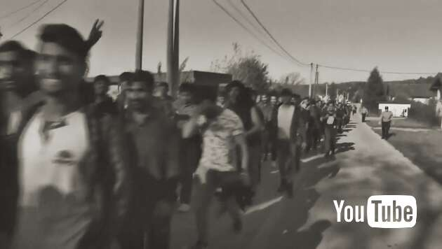 Embedded thumbnail for Nächste Asylwelle rollt: Tausende junge Männer auf Balkanroute