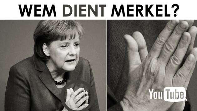 Embedded thumbnail for Wem dient Merkel?
