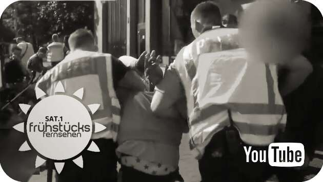Embedded thumbnail for Nafris lachen nur über die deutsche Polizei