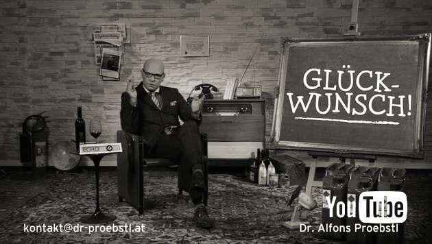 Embedded thumbnail for Dr. Alfons Proebstl 88 - Glückwunsch!