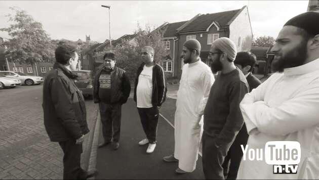 Embedded thumbnail for Muslime übernehmen englische Stadt