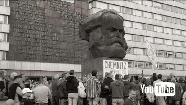 Embedded thumbnail for Livestream: Demo in Chemnitz 07.09.2018