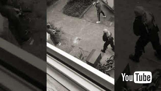 Embedded thumbnail for Marokkaner bei versuchtem Messerangriff erschossen