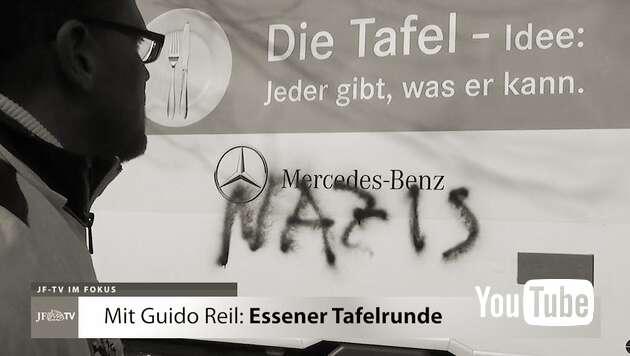 Embedded thumbnail for Mit Guido Reil an der Essener Tafel