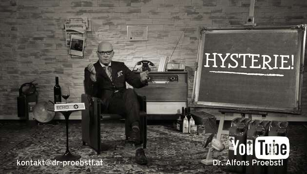 Embedded thumbnail for Dr. Alfons Proebstl 87 - HYSTERIE!