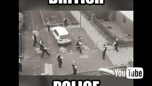 Embedded thumbnail for Britische Polizei: Eine Lachnummer