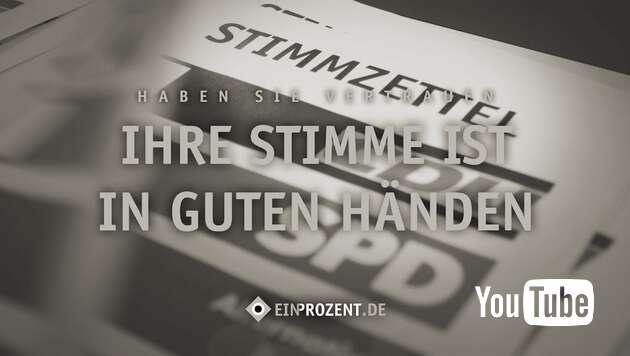 Embedded thumbnail for Wahlbetrug verhindern!