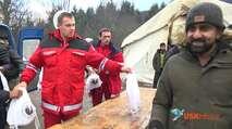 Embedded thumbnail for Zehntausende Männer lauern auf Weiterreise nach Deutschland