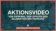 Embedded thumbnail for Identitäre setzen Denkmal am Brandenburger Tor