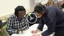 Embedded thumbnail for Viele Flüchtlinge verweigern Deutschkurse