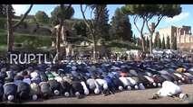 Embedded thumbnail for Allahu akbar vor dem Kolosseum