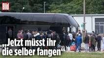 Embedded thumbnail for Auffanglager in Brandenburg schon jetzt überfüllt