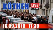 Embedded thumbnail for Livestream: Demo in Köthen 16.09.2018
