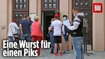 Embedded thumbnail for Der Deutsche lässt sich schon mit einer Wurst locken